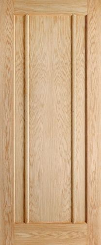 Internal Oak Lincoln Half Hour Fire Door 44mm